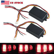 Pair Chase Flash Module Tail With 3 Step Boxes Sequential For Turn Signal Light