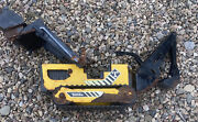 Antique Tonka Backhoe Toy Tractor Rusty Paint Chipping Front Back Loaders Made