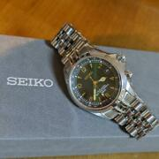 Seiko Alpinist Sarb017 Discontinued Overhaul 6r15-00e1 Date Automatic Mens Watch