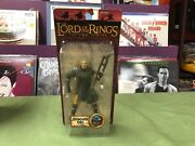 Lord Of The Rings Lotr Two Towers Tt Isengard Orc Warrior W/ Axe Toybiz 6 Mosc