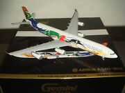 Gemini Jets South African Airways A340-300 2012s Olympic Color 1200 Diecast