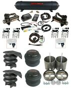 Complete Air Ride Suspension Kit W/480 Black And 27685 Air Lift 3p Fits 99-06 1500