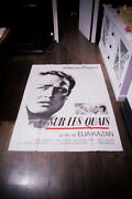 On The Waterfront Brando 4x6 Ft French Grande Movie Poster 1954 Rerelease 1980and039s