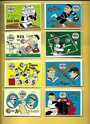 1970 Fleer Laughlin World Series Set Complete 66 Mid-grade Averages Ex+