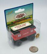 Thomas And Friends Wooden Railway Train Tank Engine - Sodor Line Caboose New 1994