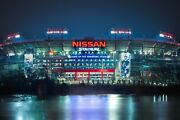 Nissan Stadium Nashville City Photography Metal Print Wall Art Picture Home Deco