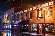 Johnny Cash Museum Nashville City Photography Metal Print Wall Art Picture Home
