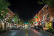 Franklin Gray's Downtown Main Street Tennessee Photography Landmark Canvas Metal