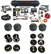 3 Preset Pressure Complete 580c Air Ride Suspension Kit For 1965-70 Cadillac