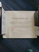 Calvin Coolidge Signed Appointment Document W. Secretary Of State Kellogg