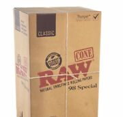 Raw Classic 98 Special Size Pre-rolled Cones 1400 Pack