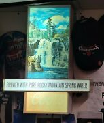 Coors Beer - Pub Breweriana Lighted Sign Display Man Cave, Bar, Collector's Item