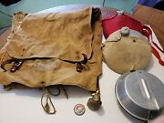 Vintage Boy Scout Collectibles Yucca Pack 574, Mess Kit, Pin Back, Canteens