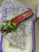Willitts Raine Collectible Just The Right Shoe 2000 Ribeting 25075 Signed In 03