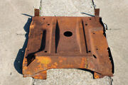 Vintage Saab 96 95 Engine Sheet Metal Front Belly Pan Two Stroke V4 Era
