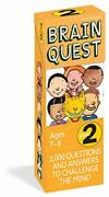 Brain Quest Grade 2 1,000 Questions And Answers To Challenge The Mind Brain...