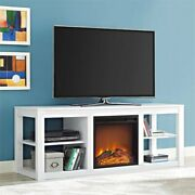 Beaumont Lane Fireplace Tv Stand In White