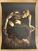 Miles Tsang Copy Of A Warm Place Variant Poster Signed /35 Nine Inch Nails