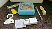Tupperware Travel Lot- Keeper Luggage Tagshoe Horn Step Countertooth Brush++