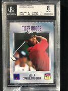 1996 Sports Illustrated For Kids Tiger Woods Beauty Rc 536 Bvg 8 Under Graded