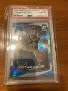 2017-18 Optic Donovan Mitchell Rated Rookie Rc Holo Silver Parallel Psa 10