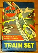 Vintage Midgies Train Set Jaymar  Never Played With Still In Box Rare