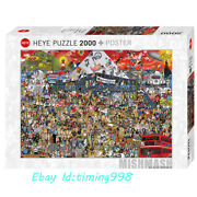 Heye Britain Evolution Music Carnival 2000 Adult Stress Relief Puzzles Toys New