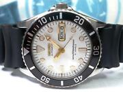 Seiko Diver Modified Skx027 7s26-0050 Automatic Mens Watch Authentic Working