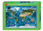 Heye Earth Satellite Images 2000piece Adult Decompression Puzzles Toys Gift New