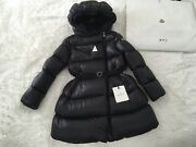 Moncler Puffer Jacket For Girls, Color Black, Size 10 Years ,140cm, Used,