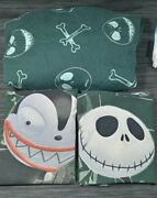 The Nightmare Before Christmas Jack Skellington Bed Fitted Sheet Pillow Set
