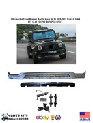 Aftermarket B-style Front Bumper Lower Lip Fits Mercedes G-class W464 G-63 Amg