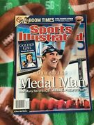 Michael Phelps 8/23/04 Olympic Swimming Sports Illustrated Medal Man No Labels
