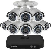 New 8 Channel 5mp Home Security Camera System 2tb Dvr Digital Video Recorder