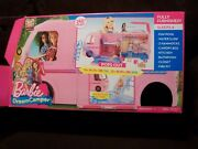 Barbie Dream Camper Pops Out Play Set Pool Fully Furnished Niob