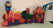 Fisher Price Little People Zoo Circus Animal Figure Train Playset Sound Moves 98