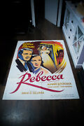 Rebecca Hitchcock 4x6 Ft French Grande Movie Poster Festival Rerelease 1970and039s