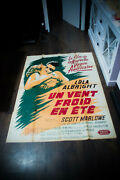 A Cold Wind In August 4x6 Ft French Movie Poster Original 1961 Used
