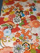 Vintage Wamsutta Kimono Floral Twin Amazing Color Great Finish 2 Available