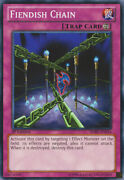 Fiendish Chain - Sdbe-en034 - Common - 1st Edition X3 - Lightly Played