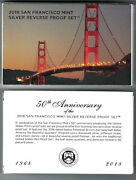 Empty Packaging Replacement 2018 San Francisco Mint Silver Reverse Proof Set