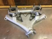 Triumph Tr3 Tr3a Tr3b • Exhaust Manifold And Intake. Used. Stanpart 304164. T2258