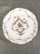 Royal Crown Derby 9 Hand Painted Plates C 1891