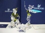 Disney 2011 Peter Pan And Tinkerbell With Title Plaque Bnib