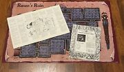 Rare 1992 Dungeons And Dragons Ravenand039s Ruin Module Tsr 9350 W/map And Extras