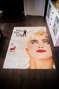Madonna Who's That Girl 4x6 Ft Vintage French Grande Movie Poster Original 1987