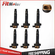 Set Of 6 Ignition Coil For Ford Expedition Lincoln Mkt Navigator Replaces Uf646