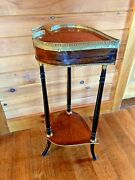 Antique Unusual Heart Shaped Side Table