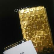 June 2019 Metierdal Collection Pouch Gold