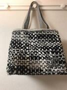 Coco Mark Tote Bag Reversible And Large Towel